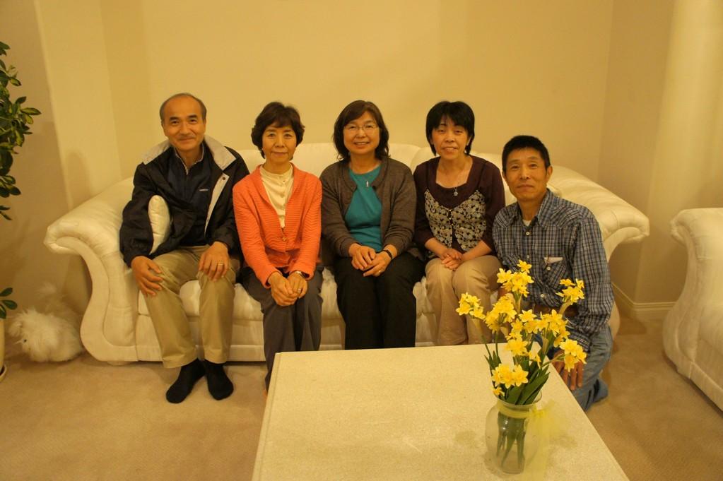 2012 Pastor & Mrs. Koyama and Pastor Muranaka