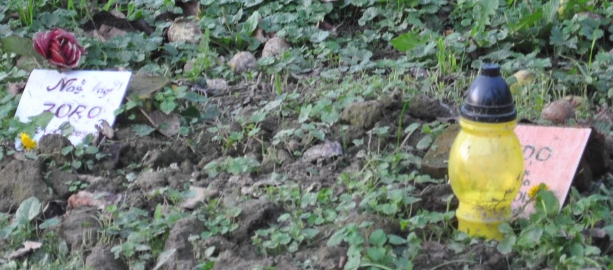 Die Gräber von Zoro und Medo