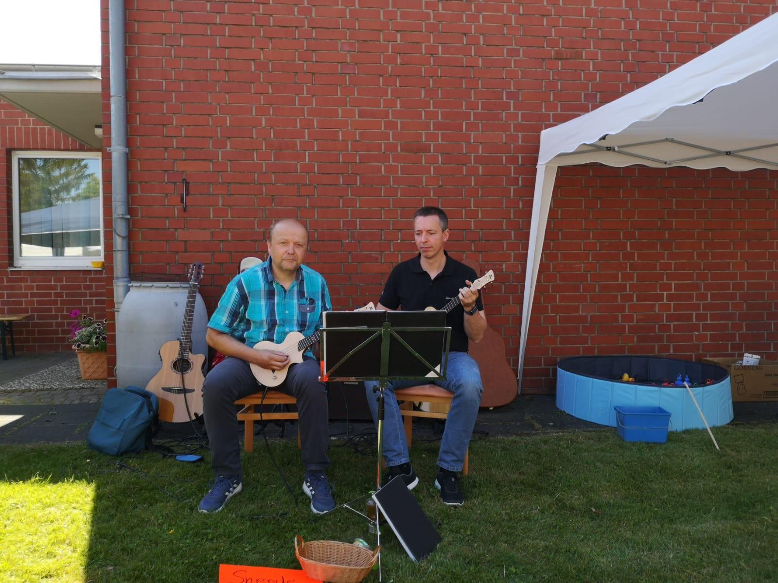 Hans Georg Gloger und Robert Niemann