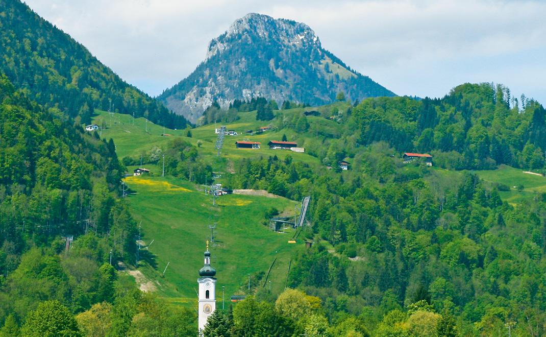 Oberaudorf mit Brünnstein