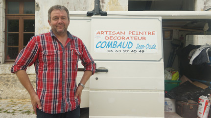 Île d'Aix Jean Claude Combaud Artisan peintre décorateur