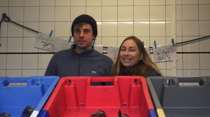Ouessant - Ondine Morin et Jean-Denis Le Pape - Kalon Eusa - Pesked Eusa - Guide et marins pêcheurs