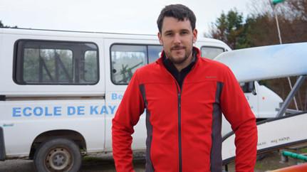 Belle-Île-en-Mer Emilien Le Bouder Moniteur de Kayak