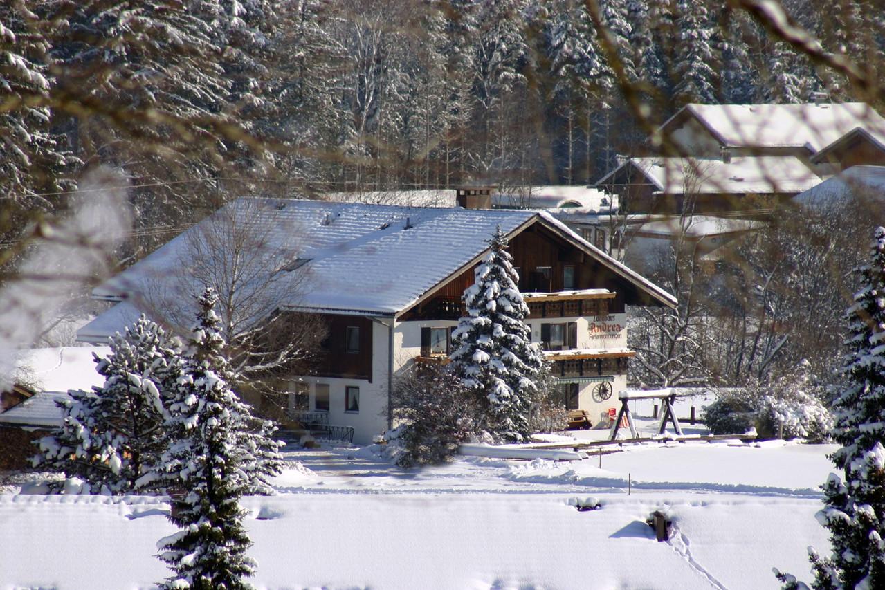 Ferienwohnung in Fischen im Allgäu, Ferienwohnung freie Lage und freie Bergsicht – Landhaus Andrea