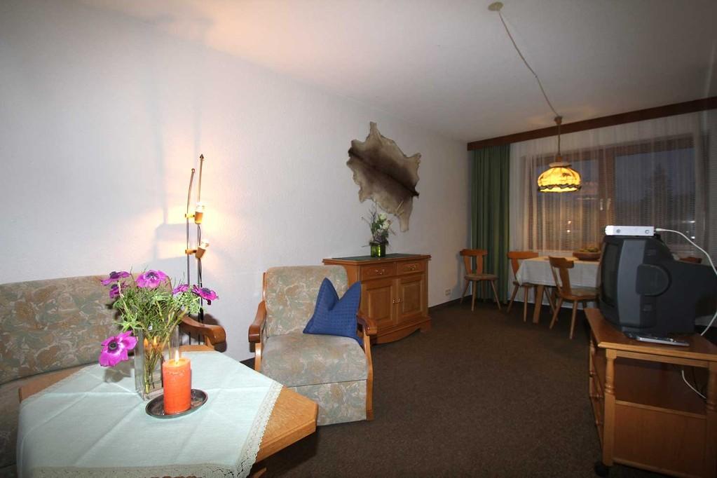 Landhaus Andrea – Ferienwohnung 04 - Wohnraum