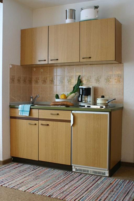 Landhaus Andrea – Ferienwohnung 05 – Küchenzeile