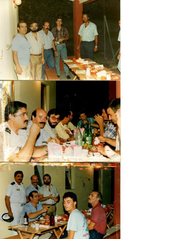 1987 - Incontro conviviale presso Comando Marina Cagliari