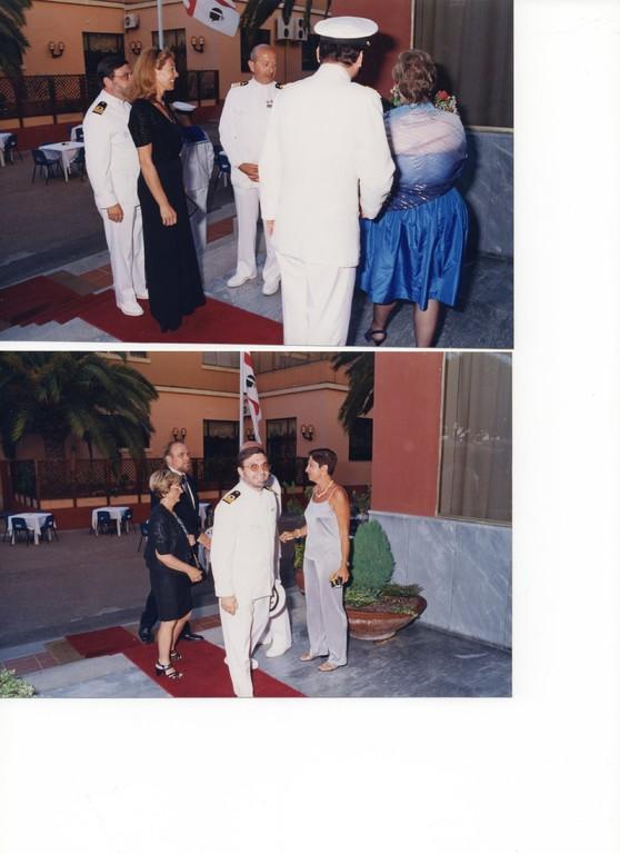 10.06.1998 - Comando Marina Cagliari - Ricevimento
