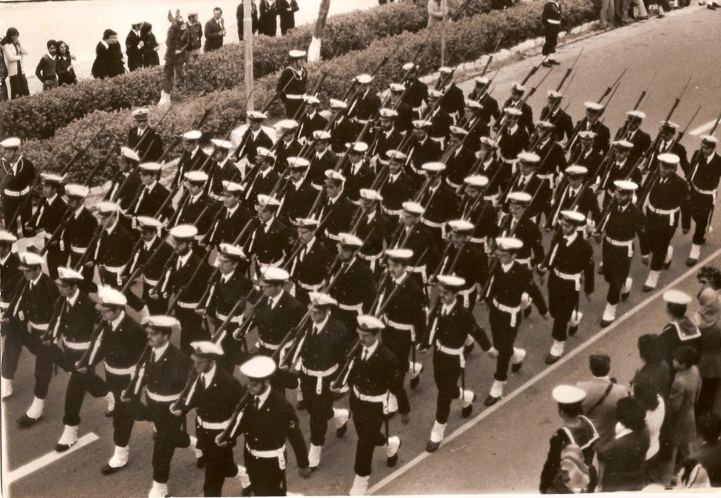 Corso I.G.P. - Defilamento Compagnia SAL in Viale Ammiraglio Mirabello