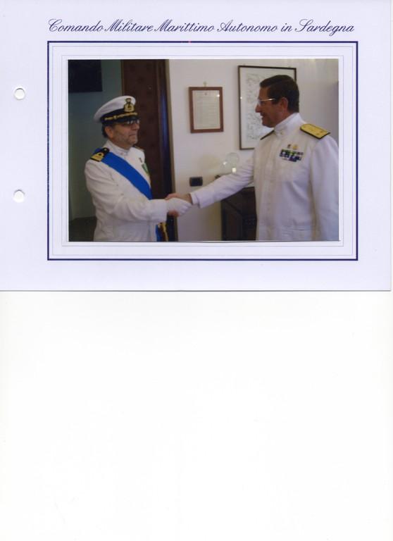 23.06.2006 - Presentazione di commiato al CINC di Marisardegna, A.D. Baggioni