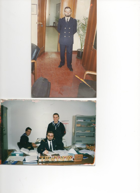 1986 - Segretario Particolare Comando Marina Cagliari