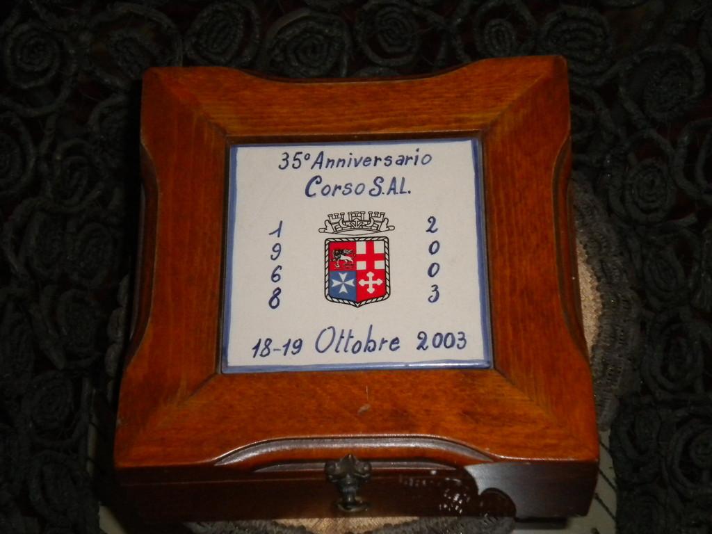 Chiaciano 18-19 Ottobre 2003 - Raduno per il Trentacinquennale