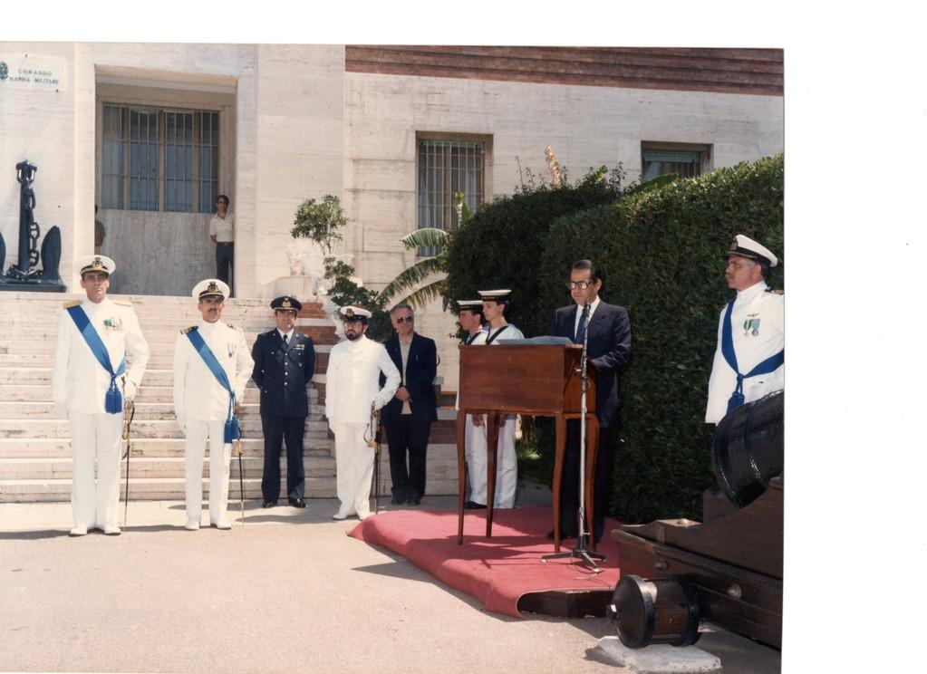 1987 - Festa della Marina - Intervento del S.S.S.Difesa, On. PISANU