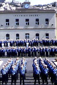 Mariscuola La Maddalena -Piazzale  Avegno -Assemblea generale