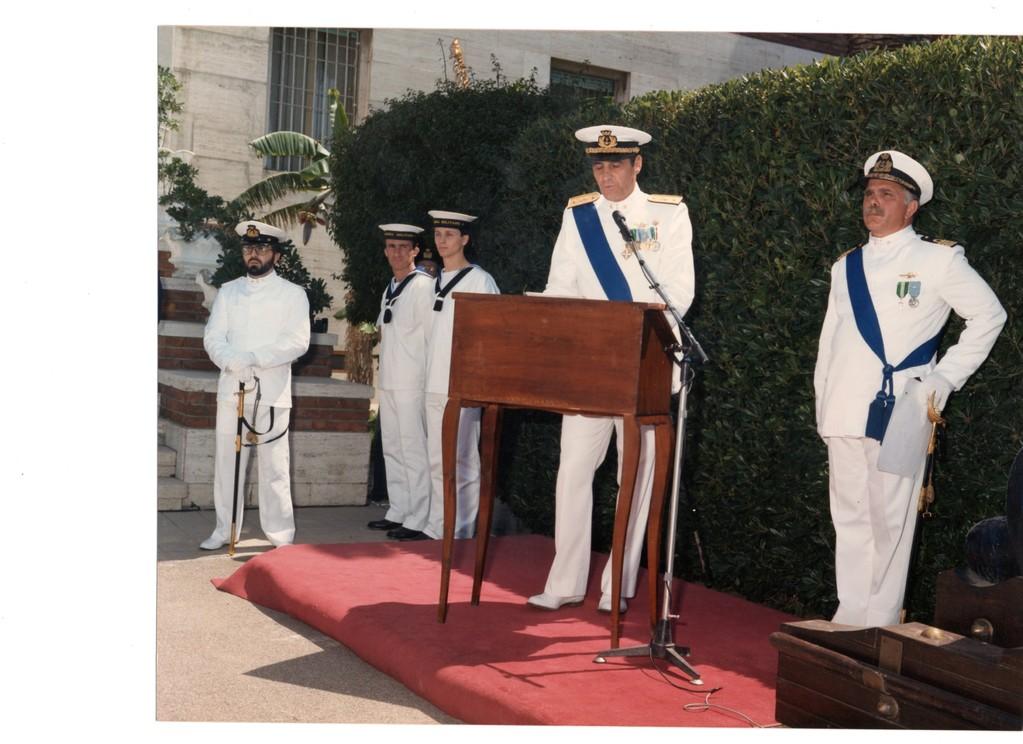 1987-  Capo 2^ cl. Ximenes - Comando Marina Cagliari  -  Festa della Marina