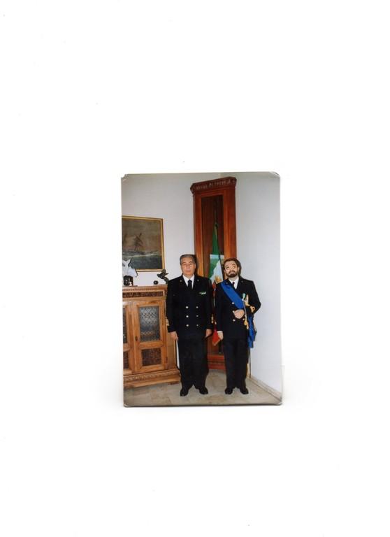 NOV. 1994 - Presentazione di commiato al CINC di Maridipart SP., Amm.Sq. GINESI