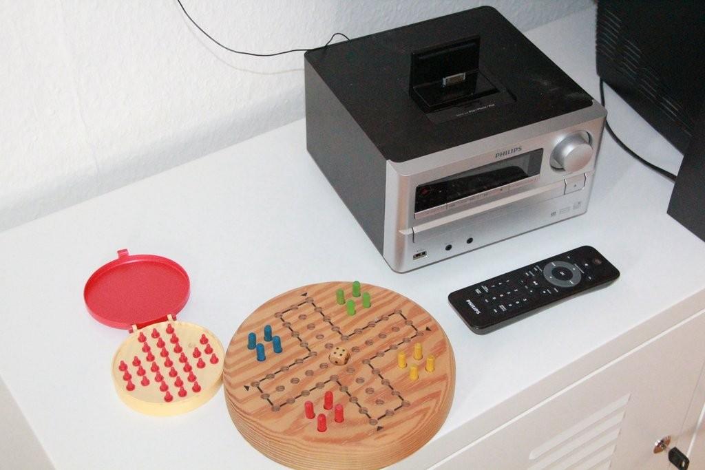 Im Wohnzimmer - Kompakt-Musikanlage mit mp3-USB- und CD-Player