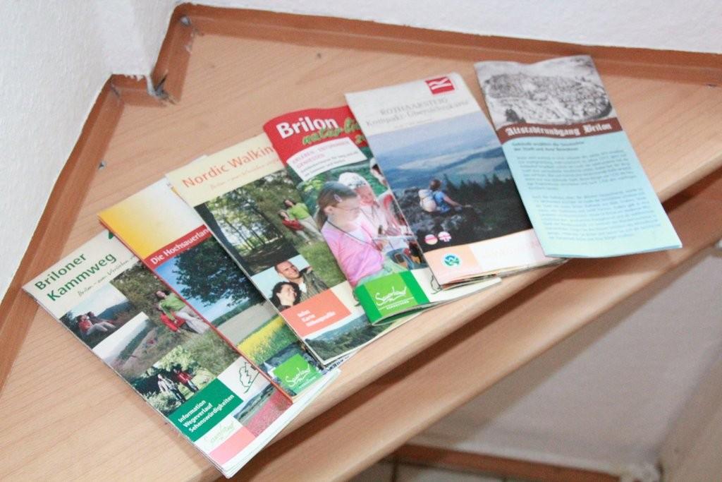 Zurück im Flur - Infomaterial Sauerland