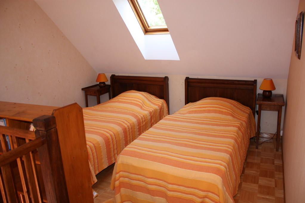 Chambre 2: lits en mezzanine