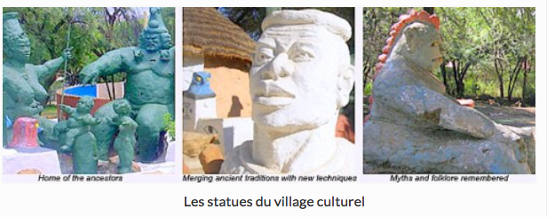 statues village culturel