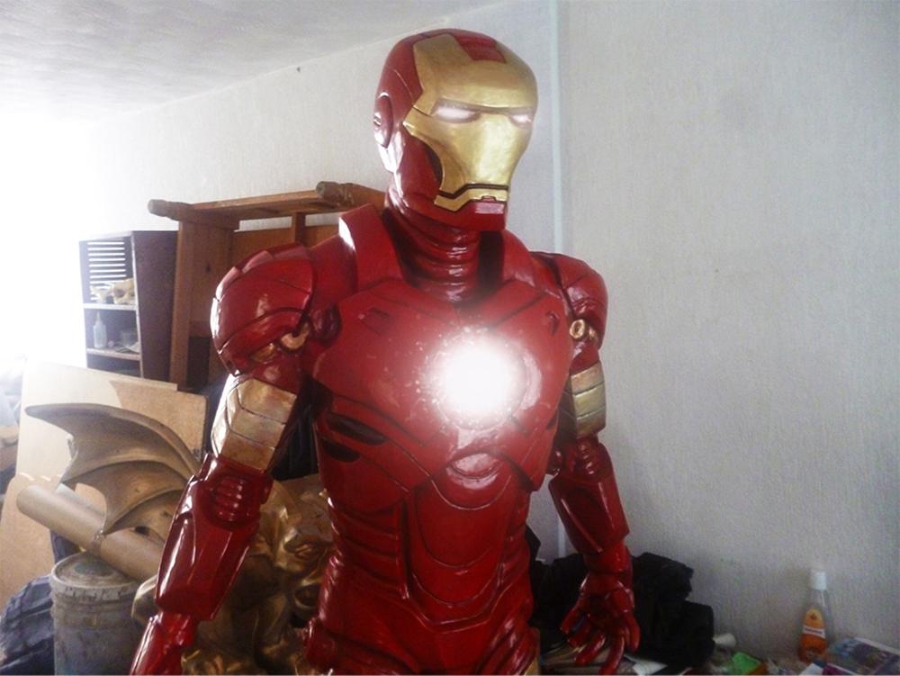 iron man fiberglass