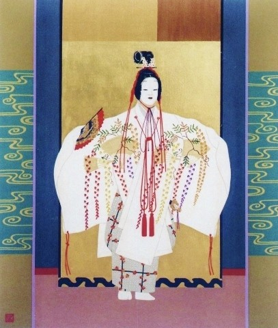 杜 若  kakitsubata