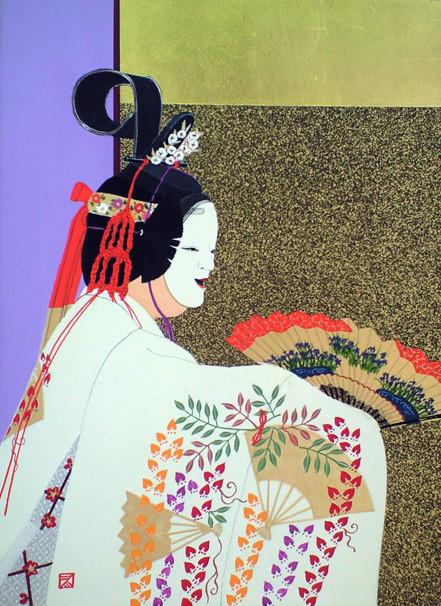 杜 若  kakitsubata  1999年
