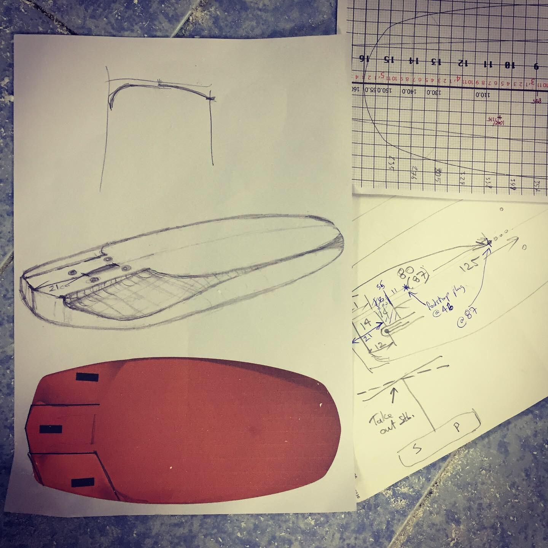 "#640 Tim's Design 5'3"" x 29"" ±106liters"