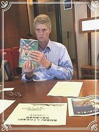 シカの本を示す写真
