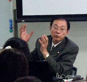 グローバルな視点で北海道の魅力を語る永田社長