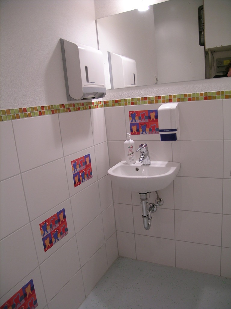 Waschraum Personal
