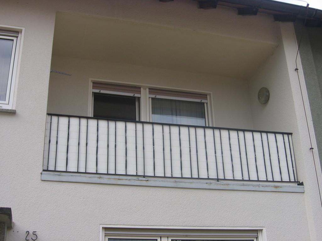 Balkon im Obergeschoss - vor dem Umbau