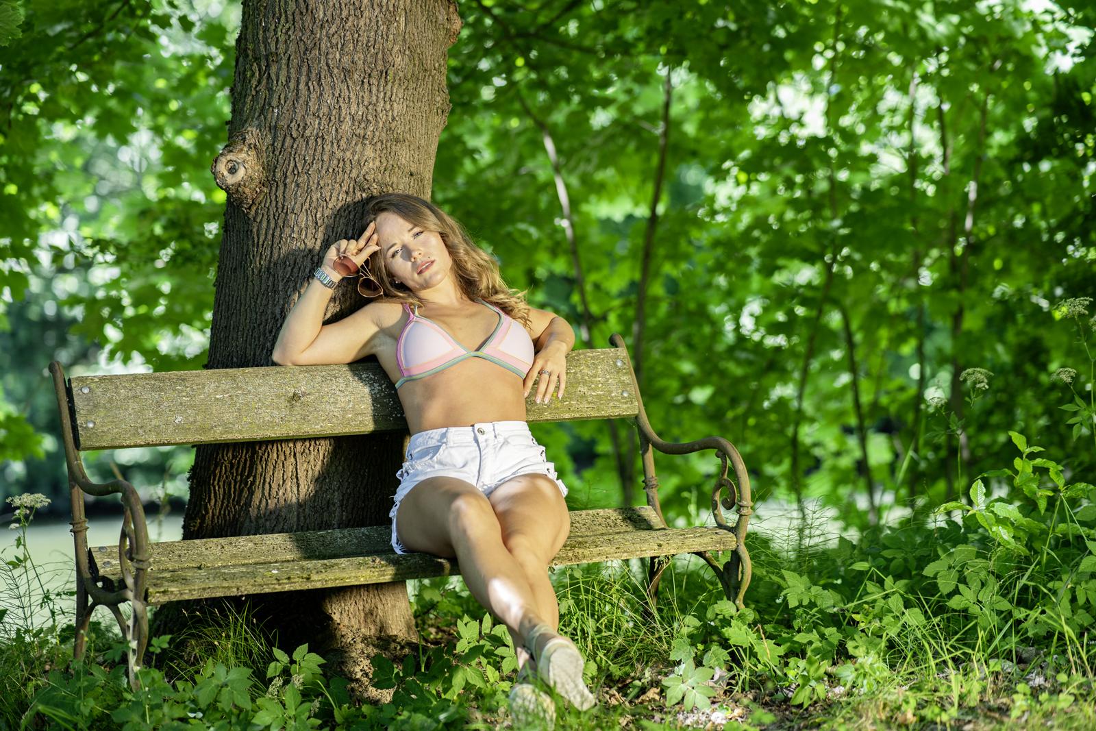 Outdoor mit Leoni Carrell