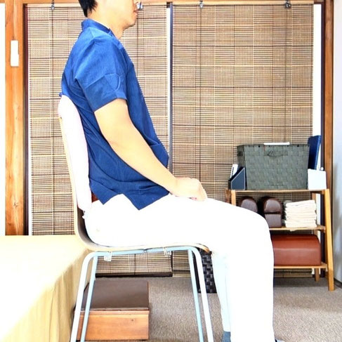 椅子の楽な座り方2