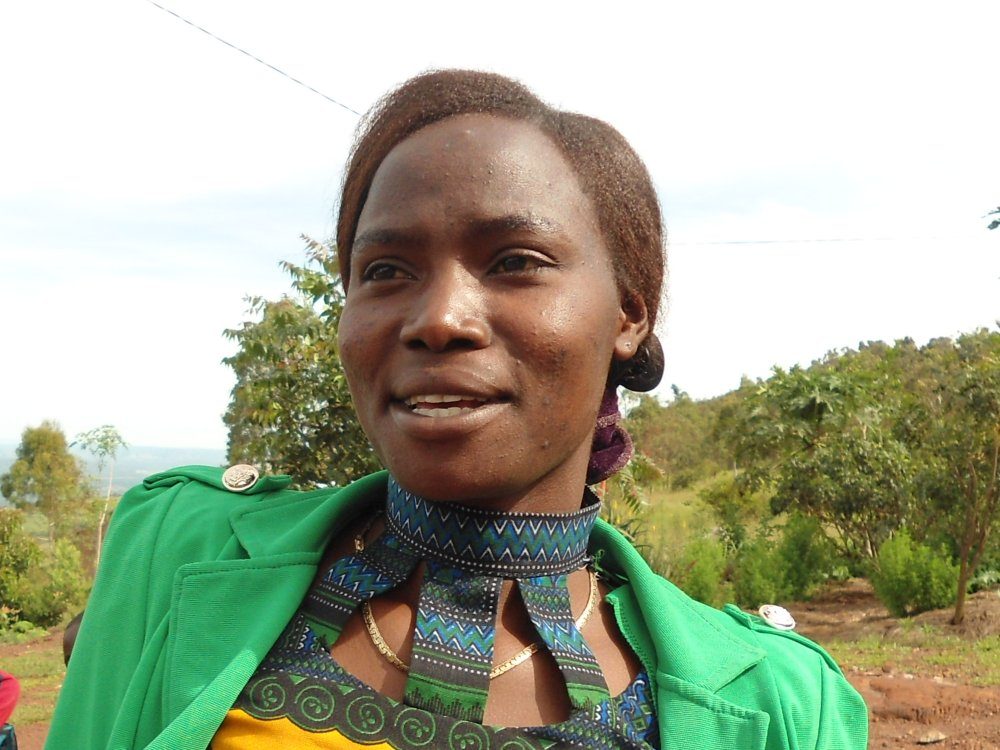 Jonsolina, Lehrerin der Vorschulgruppe.