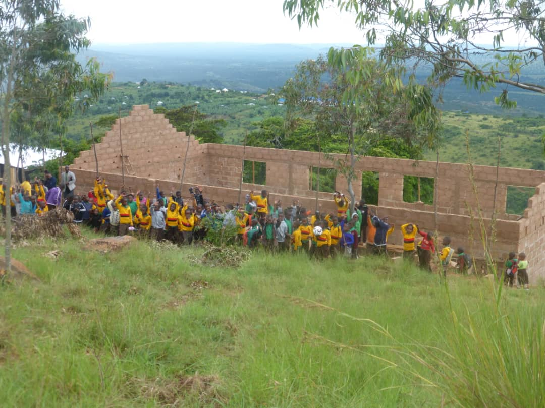 Das Hosiana-Waisenhaus, gespendet von HeidelbergCement: dieses Jahr entsteht zunächst der Mädchentrakt, 2020 soll der Jungentrakt kommen.