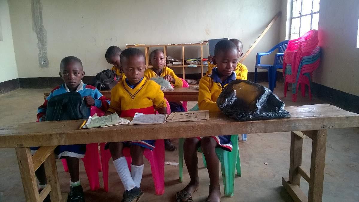 Eine Hosiana-Lerngruppe.