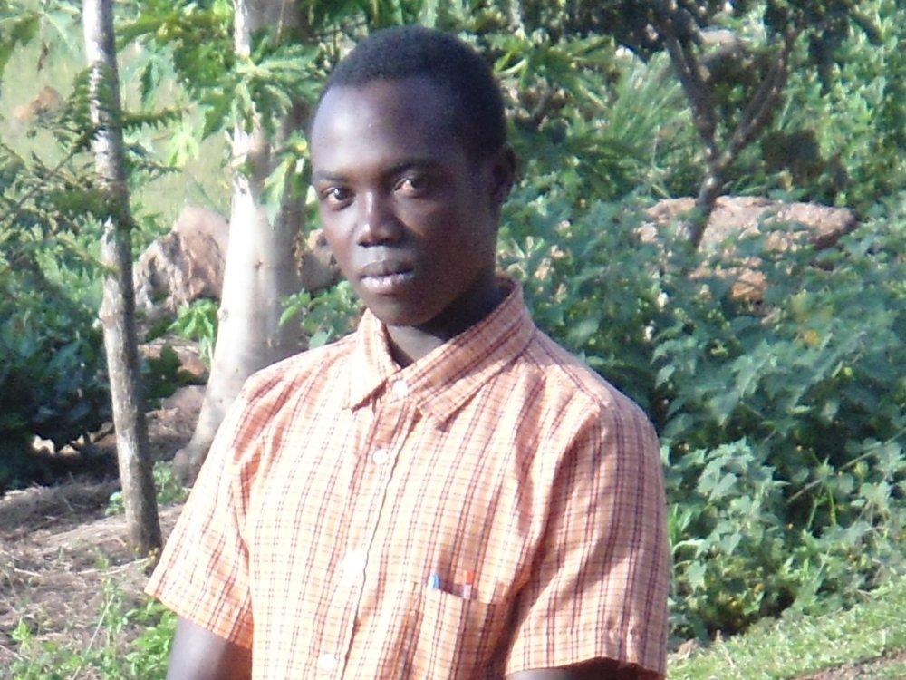 Godfrey, ein junger Lehrer.