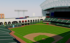 Minute Maid Park - Houston Astros stadium 3d mls baseball usa america canada stadium stadion estadio baseball mets 3d mets mascot astros baseball mls city arena stadion estadio ballpark america usa vr ar