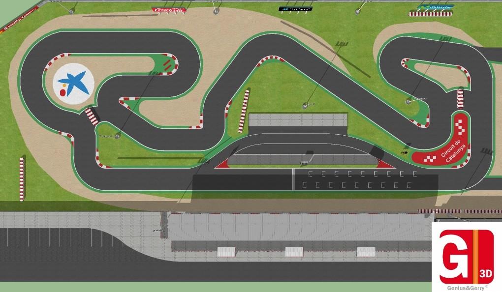 Circuito Karting : Circuitos de karting d design · ar vr shop