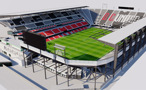 Audi Field - Washington DC nfl mlb mls football america usa national superbowl soccer city arena 3dmodel ncaa