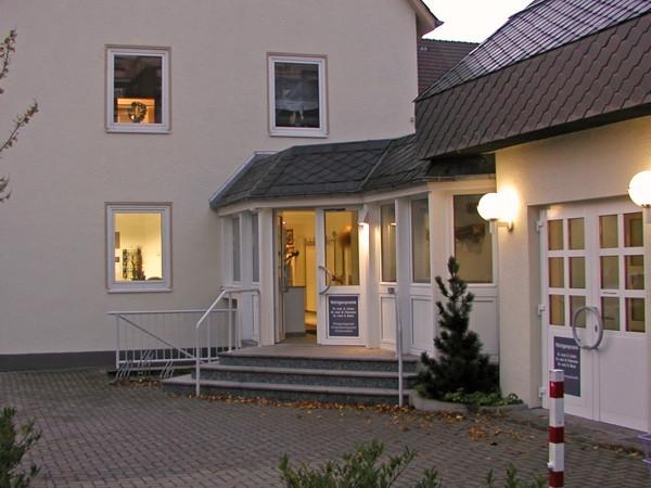Eingang Wiesestraße