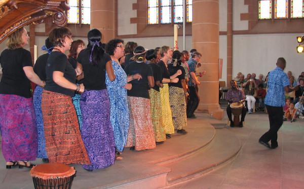 Lesedi Show Choir - Heiliggeistkirche Heidelberg 13.06.2011