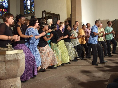 Lesedi Show Choir - Spitalkirche Baden-Baden 19.06.2011