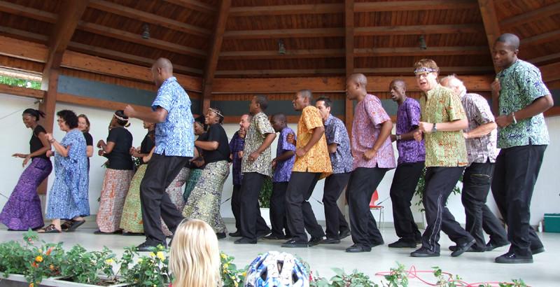 Lesedi Show Choir - Mannheim Herzogenriedpark 12.06.2011