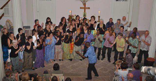 Lesedi Show Choir - Birkenau 17.06.2011