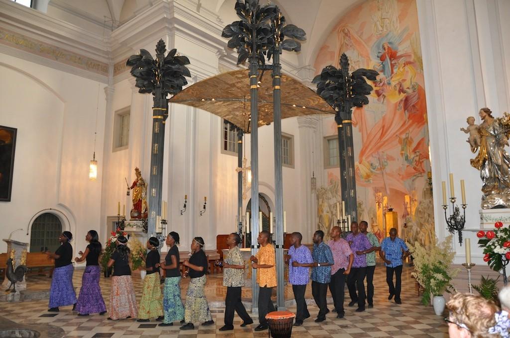 Lesedi Show Choir - Karmelitenkloster Würzburg 10.06.2011