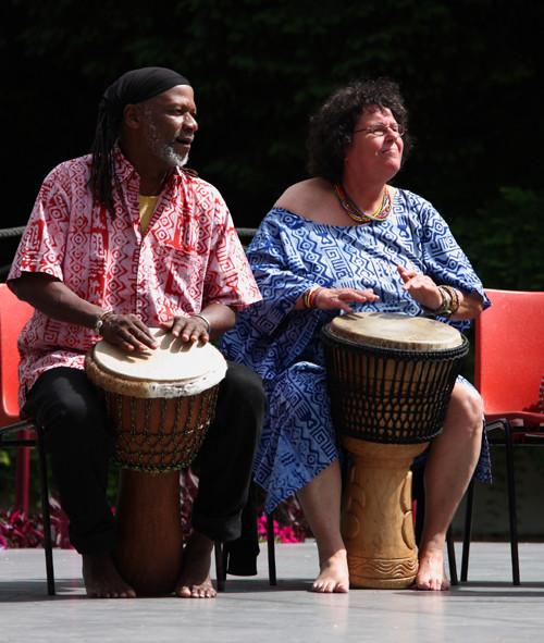 Afrikakonzert im Luisenpark Mannheim - Juni 2010