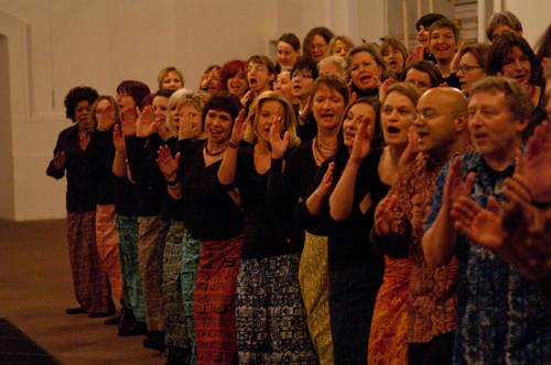 Konzert Jesuitenkirche Heidelberg - Januar 2011