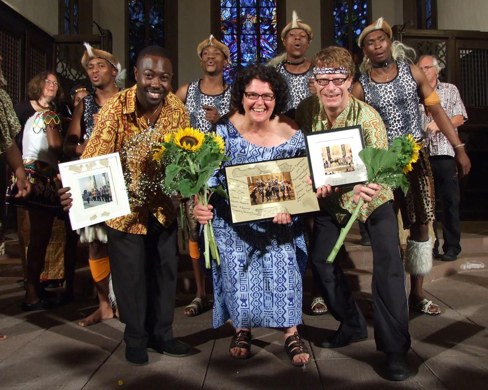 Lesedi Show Choir sagt DANKE für die Konzerttour 2011